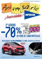 Ofertas de Hipercor, ¡Aniversario! 2ª unidad al -70% en más de 1.000 artículos