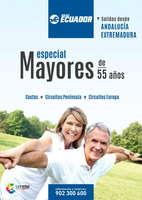 Ofertas de Viajes Ecuador, Especial Mayores de 55 años. Salidas desde Andalucía y Extremadura