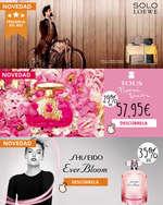 Ofertas de Perfumería Prieto, Novedades