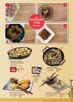 Ofertas de La Sirena, Especial cocina oriental