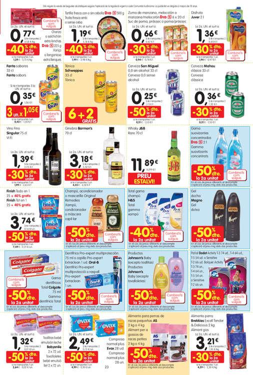 Ofertas de Dia Market, Abaixem els preus en més de 100 productes!
