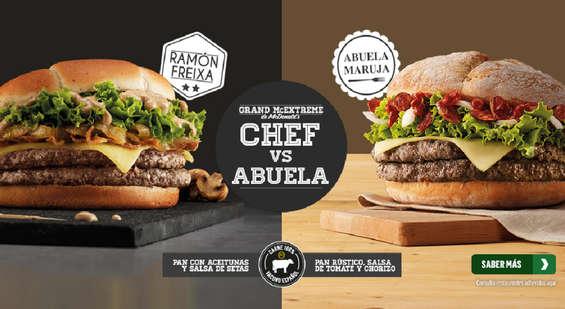 Ofertas de McDonald's, Chef vs abuela