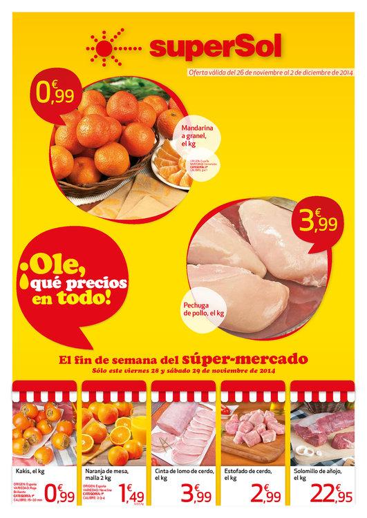 Ofertas de SuperSol, ¡Olé, qué precios en todo!