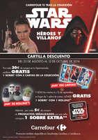 Ofertas de Carrefour, Colección Star Wars