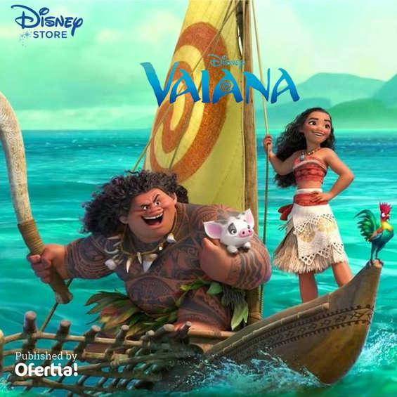Ofertas de Disney Store, Vaiana