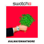 Ofertas de Swatch, I always want more