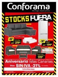 Stocks Fuera - Aniversario Islas Canarias