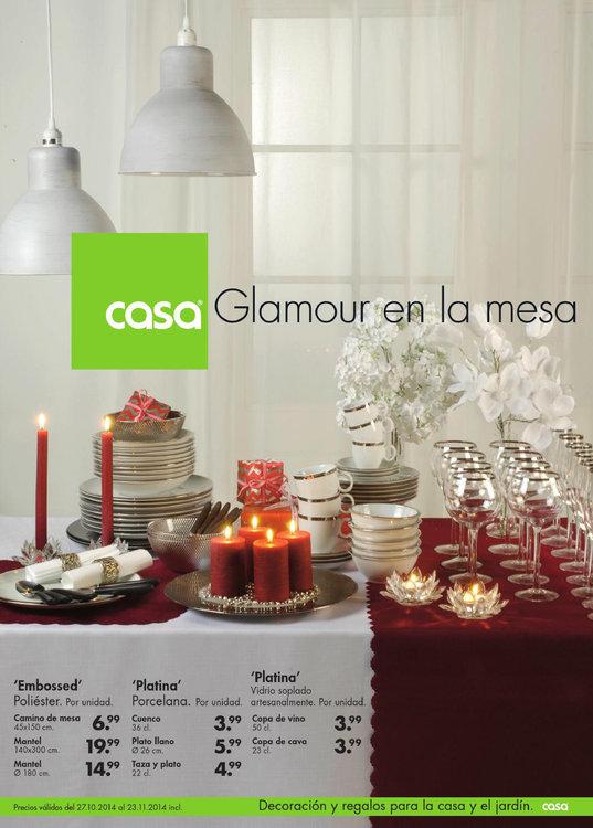 Ofertas de CASA, Glamour en la mesa