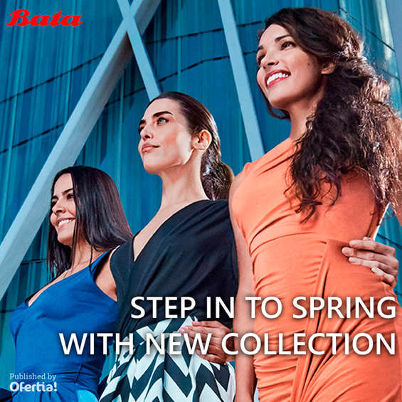 Ofertas de Bata, Step in to spring with new collection