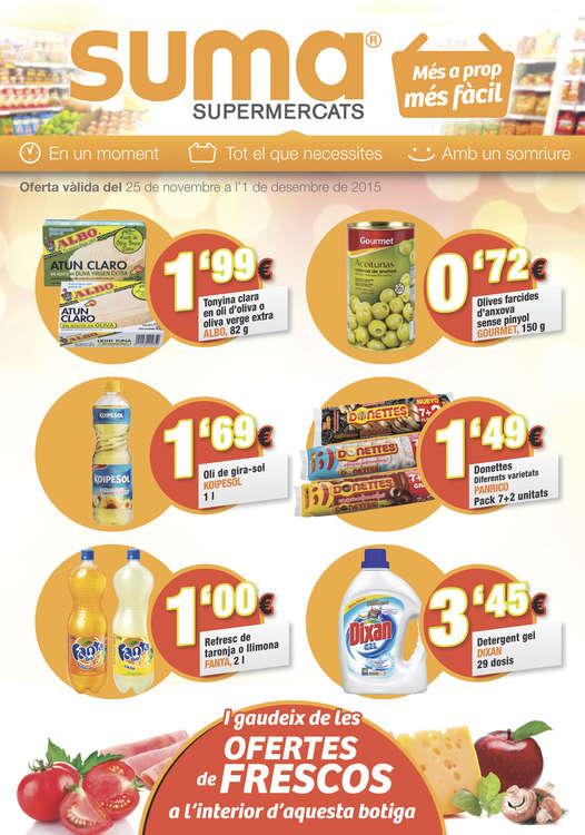 Ofertas de Suma Supermercados, Més a prop, més fàcil