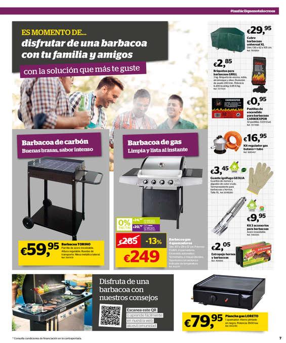 Comprar barbacoas barato en madrid ofertia - Barbacoa portatil carrefour ...