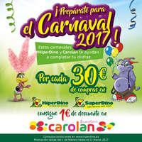 ¡Prepárate para el Carnaval 2017!