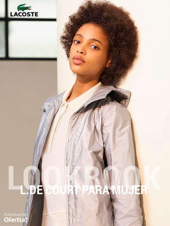 Ofertas de Lacoste, Lookbook. L. De Court para mujer