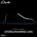 Ofertas de Clarks, Lookbook Hombre- Otoño Invierno 2016