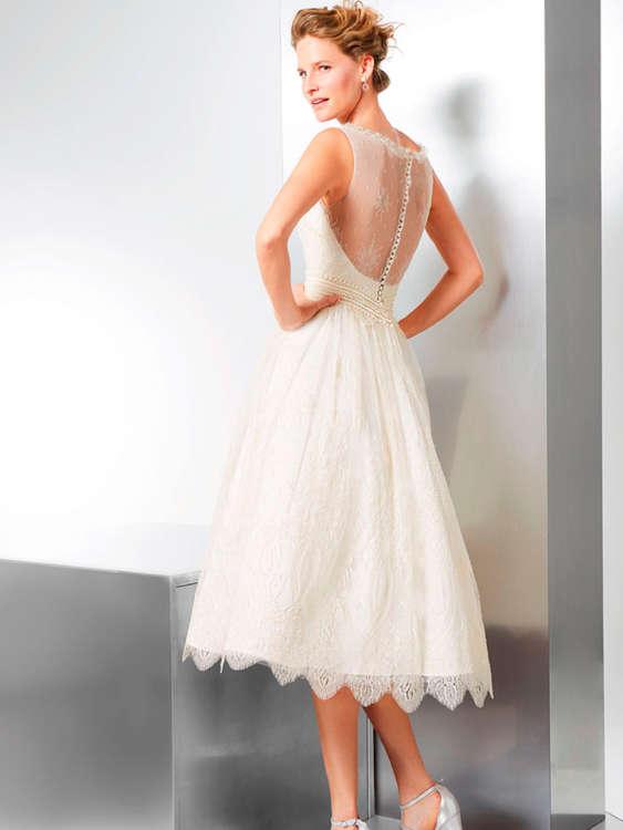Vestido de novia corto madrid