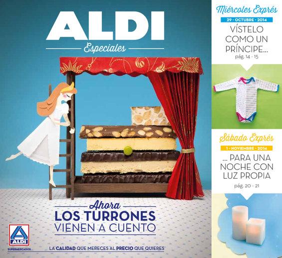 Ofertas de ALDI, Ahora los turrones vienen a cuento