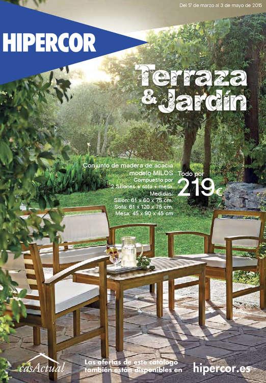 Ofertas de HiperCor, Terraza & Jardín