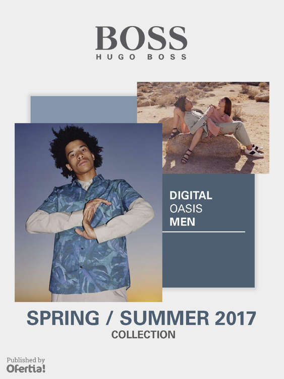Ofertas de Hugo Boss, Digital Oasis Men - Spring/Summer 2017