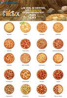 Ofertas de Domino's Pizza, ¡¡Se ven, se sienten, los 6 quesos están presentes!!