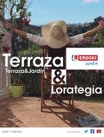 Ofertas de Eroski, Terraza & Lorategia