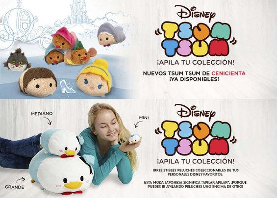 Ofertas de Disney Store, TsumTsum ¡Apila tu colección!