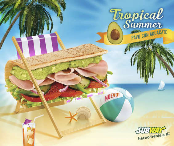 Ofertas de Subway, Tropical Summer