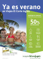 Ofertas de Viajes El Corte Inglés, Ya es verano