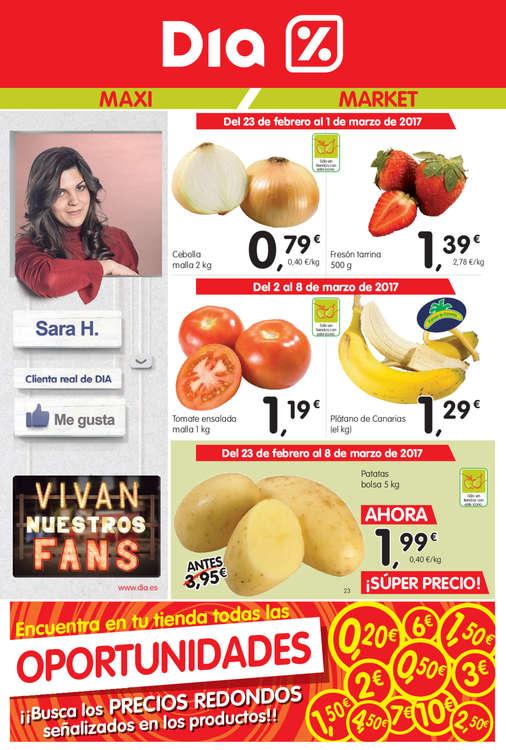 Ofertas de Dia Market, Vivan nuestros fans