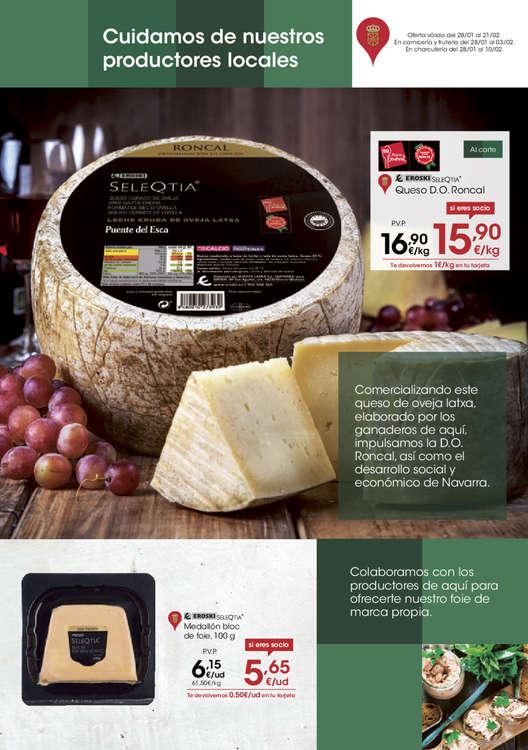 Ofertas de Eroski, Cuidamos de nuestros productos locales