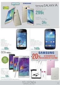 Samsung Galaxy A Dorado. Solo en El Corte Inglés
