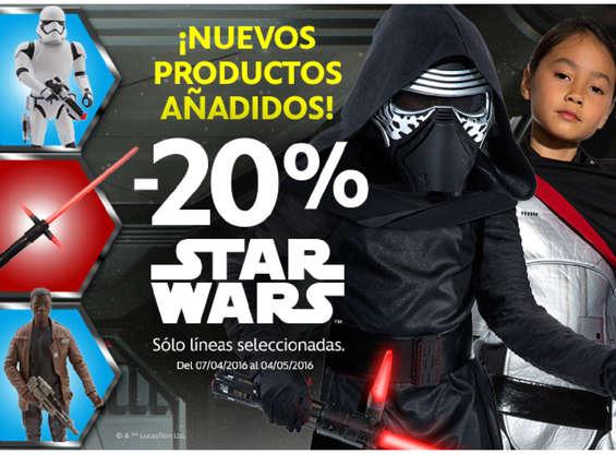 Ofertas de Disney Store, -20% Star Wars