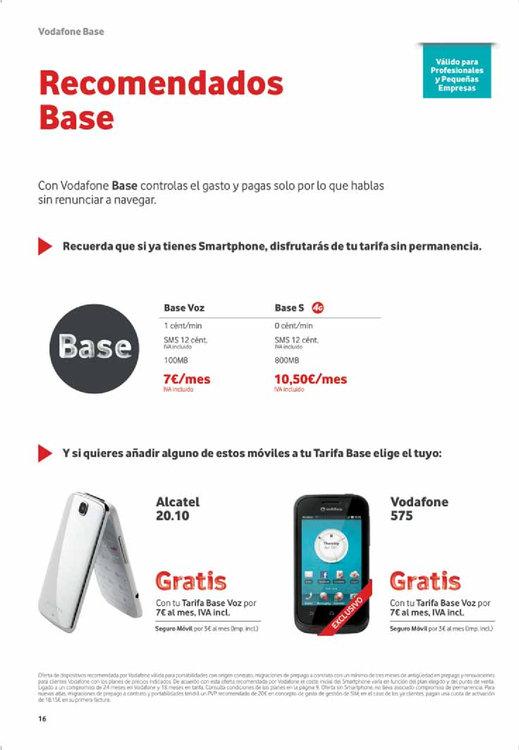 Ofertas de Vodafone, Grandes Ofertas de Octubre
