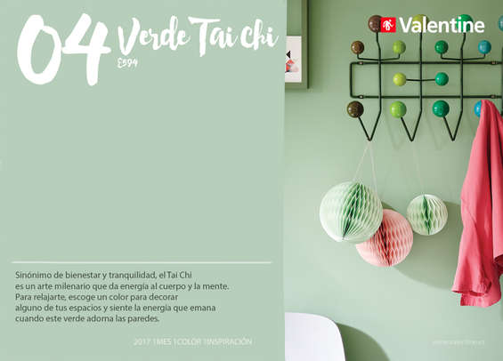 Ofertas de Valentine Decocenter, Abril - Verde taichi