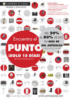 Ofertas de Camino A Casa, Del 20% al 80% de dto. en más de mil artículos