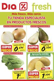 Tu tienda especializada en productos frescos