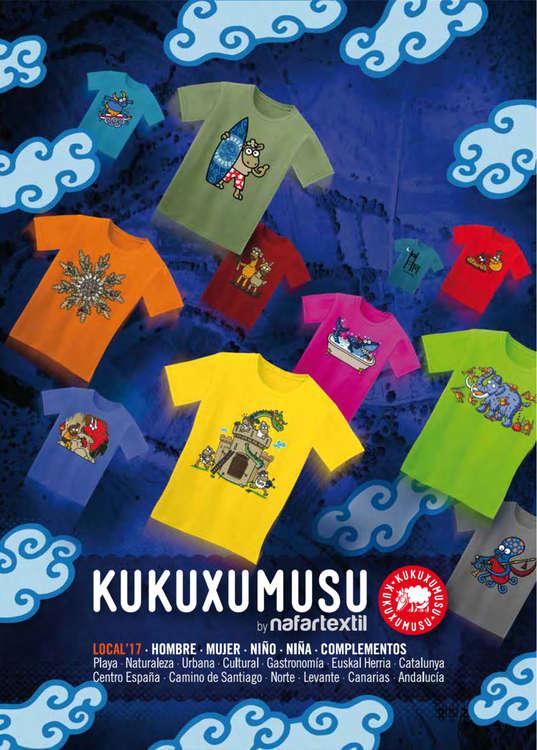 Ofertas de Kukuxumusu, SS 2017