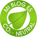 Mi blog es CO-2 neutral