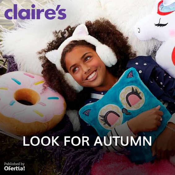 Ofertas de Claire's, Look For Autumn