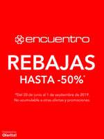 Ofertas de Encuentro, Rebajas hasta -50%