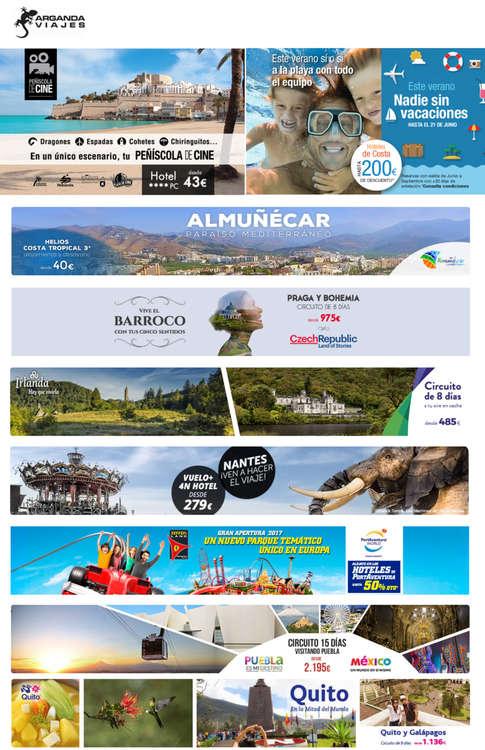Ofertas de Arganda Viajes, Este verano nadie sin vacaciones