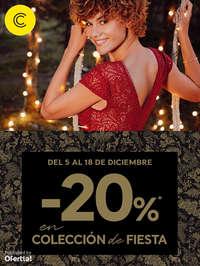 -20% en colección de Fiesta