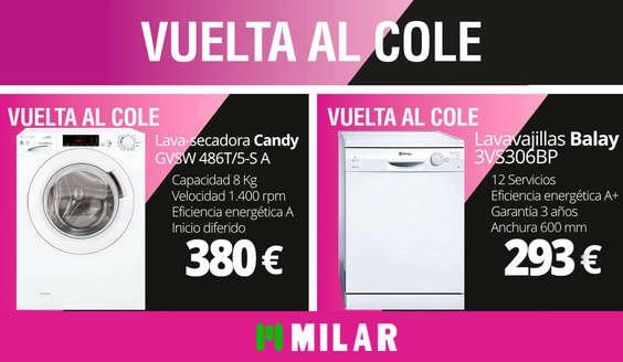 Ofertas de Milar Caslesa, Vuelta al cole