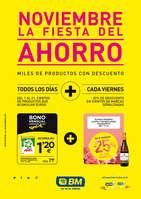 Ofertas de BM Supermercados, Noviembre: La fiesta del ahorro