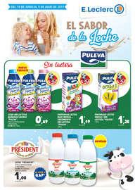 El sabor de la leche