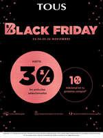 Ofertas de Tous, Black Friday
