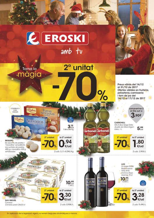 Ofertas de Eroski, Torna la màgia