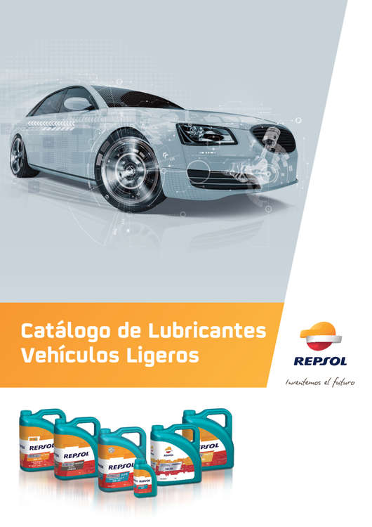 Ofertas de Repsol, Lubricantes para vehiculos ligeros