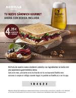 Ofertas de Rodilla, Tu nuevo sándwich gourmet ahora con bebida incluida