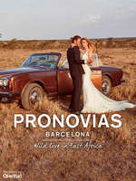 Ofertas de Pronovias, Wild love in East Africa