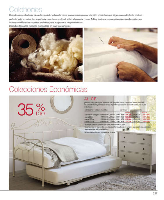 Comprar cama individual barato en zaragoza ofertia - Laura ashley zaragoza ...